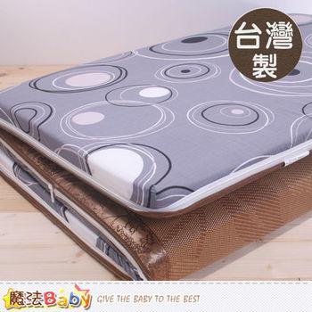 魔法Baby~台灣製單人3x6尺亞藤蓆透氣床墊~u2408