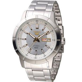 SEIKO 精工5號 穿越星際機械腕錶 7S26-04E0Y SNKN53J1