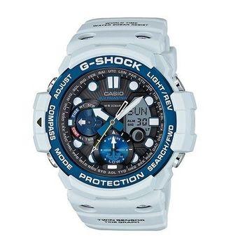G-SHOCK 海上霸業的拓展強悍機能限量運動腕錶-藍+白-GN-1000C-8A