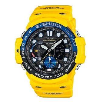 G-SHOCK 海上霸業的拓展強悍機能限量運動腕錶-黃-GN-1000-9A
