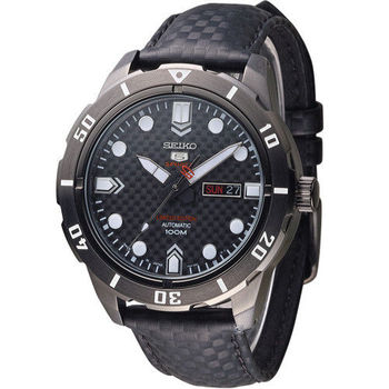 SEIKO SPORTS 限量精工5號機械腕錶 4R36-04J0K SRP721J1