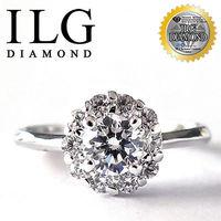 ILG鑽 八心八箭擬真鑽石戒指 愉悅心花款 主鑽約50分 RI052 七夕情人節聖誕節 鑽