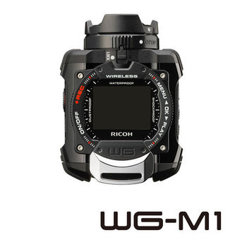RICOH WG-M1防水耐寒極限運動數位相機-黑色(公司貨)