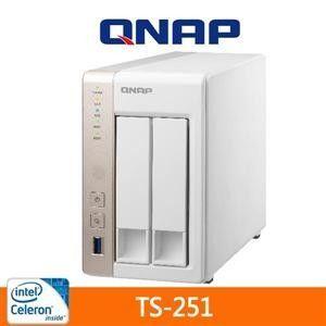 【QNAP 威聯通 】 TS-251 2Bay 網路儲存伺服器