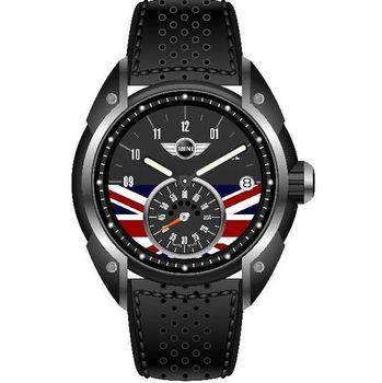 MINI 56週年英國旗幟紀念男錶