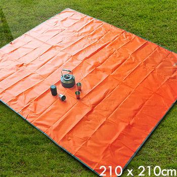 多功能露營戶外防水地墊 野餐墊 遮雨帳篷底布(210x210)
