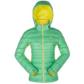 【聖伯納 St.Bonalt】女-可拆式連帽極暖羽絨外套-果綠(88013)