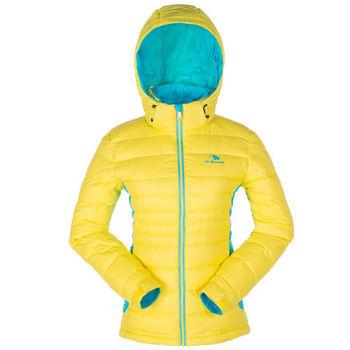 【聖伯納 St.Bonalt】女-可拆式連帽極暖羽絨外套-明黃(88013)