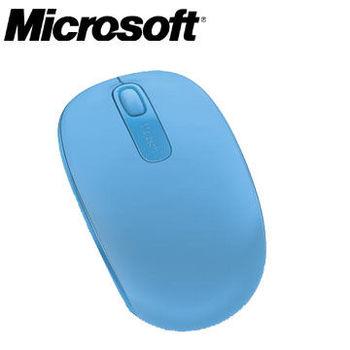 【Microsoft 微軟】  1850 無線行動滑鼠-天空藍