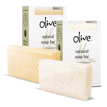【紐西蘭Olive】新橄欖香皂 2入組(天然+燕麥)