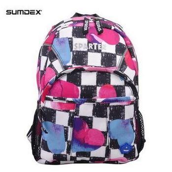 【SPARTER】SP-9713SR 繽紛炫彩兒童背包(一到五歲)格子紅