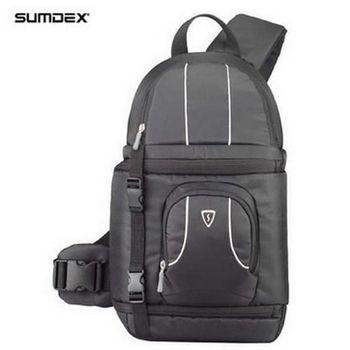 【SUMDEX】POC-484 (黑)都會探險家單眼相機斜背包