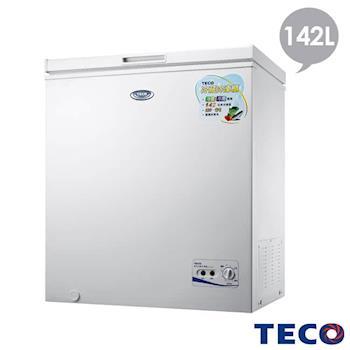 TECO東元 142公升單門冷凍櫃 RL1481W