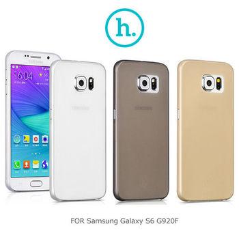 【HOCO】 Samsung Galaxy S6 G920F 薄系列PP殼 霧面殼 軟硬適中 保護殼