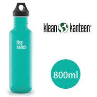 ~美國Klean Kanteen~不鏽鋼瓶800ml ^#95 潮汐藍
