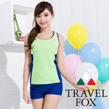 【夏之戀TRAVEL FOX】高注目長版兩件式泳衣(C15715)