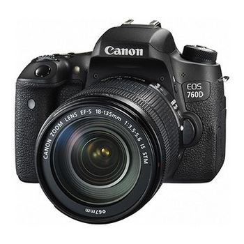 [64G高速組]【Canon】 EOS 760D 18-135mm KIT(公司貨)