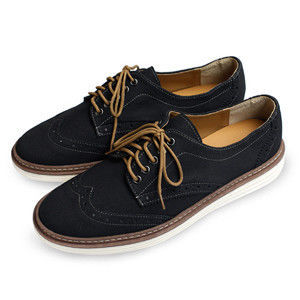 PLAYER  麂皮牛津舒適休閒男鞋 (FTP14) 黑色