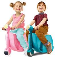 品 ^#45 英國SKOOT拉風旅行摩托車行李箱 2色 ^#40 潮青瓦、甜美粉 ^#41