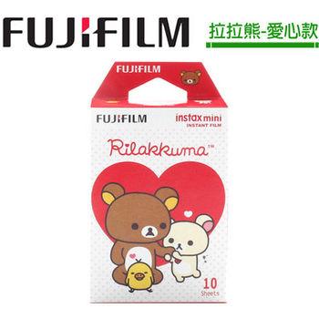 [3盒裝]FUJIFILM instax mini 拍立得底片(拉拉熊-愛心款)