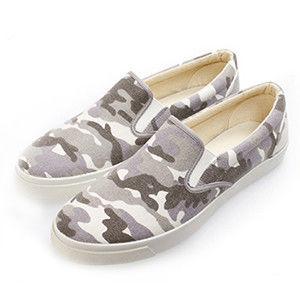 PLAYER 潮流迷彩懶人鞋  (UP76) 迷彩灰