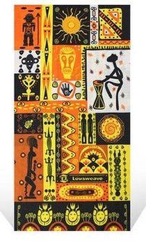 百變魔術頭巾男女運動嘻哈圍脖夏季戶外防曬面罩脖套騎行圍巾裝備(非洲文化)