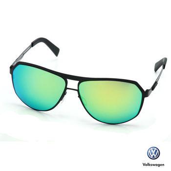 Volkswagen 福斯太陽眼鏡 飛官款-水銀藍vwp-051-01