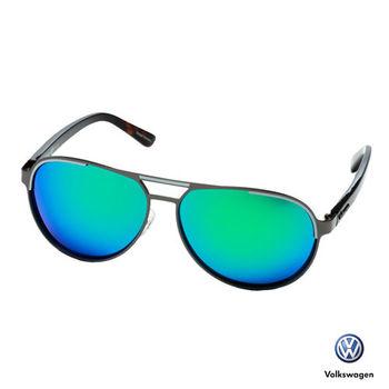 Volkswagen 福斯太陽眼鏡 飛官款-水銀藍pooo8-03