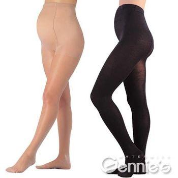 【Gennie's奇妮】腹部加寬孕婦超彈性薄絲襪6入組(GM18)