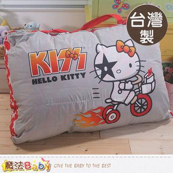 魔法Baby~台灣製Hello kitty授權正版兒童睡袋~c0110