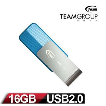 Team 十銓科技 C142 16GB 時尚百炫碟-湖水藍