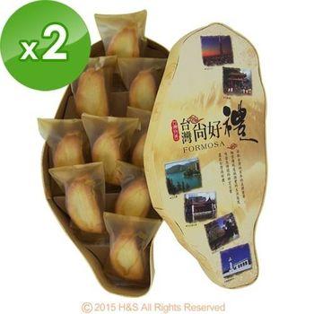 《台灣寶島》金饌鳳梨酥禮盒(9入)2盒