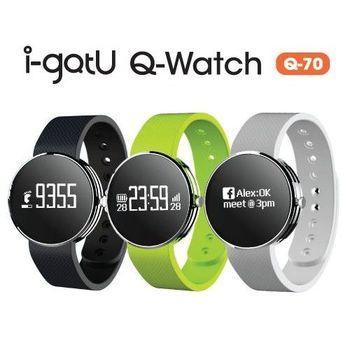 i-gotU雙揚 Q-Band Q70 藍牙智慧手環