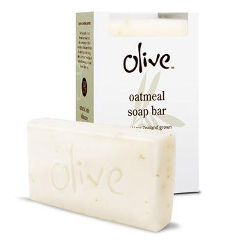 【紐西蘭Olive】新橄欖燕麥香皂 100g*2入