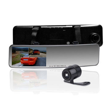 錄透攝 LtS LR20T 後視鏡 雙鏡頭 1080P 行車紀錄器