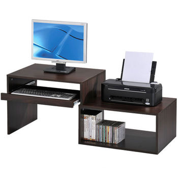 LOGIS邏爵~和室伸縮電腦桌/書桌/小桌子2色
