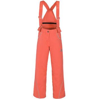 【聖伯納 St.Bonalt】中童-繽紛吊帶滑雪褲-桔紅(8048)