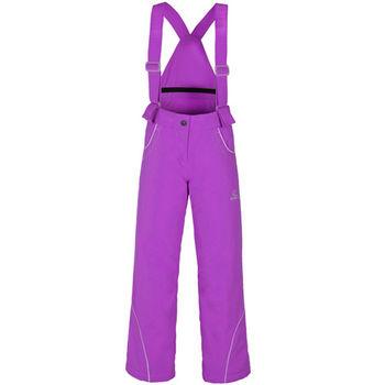 【聖伯納 St.Bonalt】中童-繽紛吊帶滑雪褲-紫色(8048)