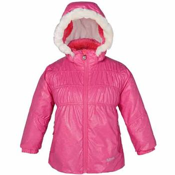 【聖伯納 St.Bonalt】童-防水鋪棉滑雪外套-深粉紅(87038)