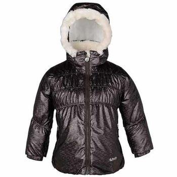 【聖伯納 St.Bonalt】童-防水鋪棉滑雪外套-深咖啡(87038)
