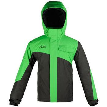 【聖伯納 St.Bonalt】男童-雙色拼接防水滑雪外套-綠色(3015)