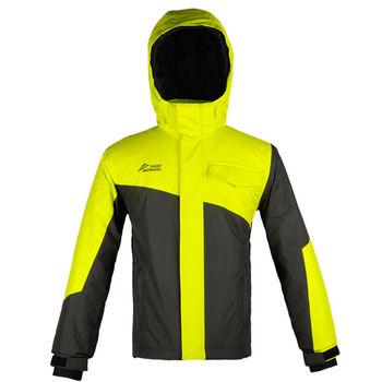 【聖伯納 St.Bonalt】男童-雙色拼接防水滑雪外套-黃色(3015)