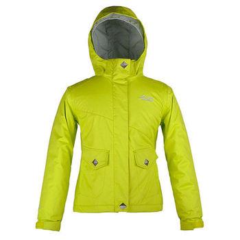 【聖伯納 St.Bonalt】女童-防水保暖滑雪外套-黃綠(3016)