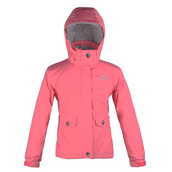 【聖伯納 St.Bonalt】女童-防水保暖滑雪外套-粉紅(3016)