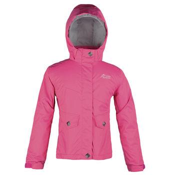 【聖伯納 St.Bonalt】女童-防水保暖滑雪外套-桃紅(3016)