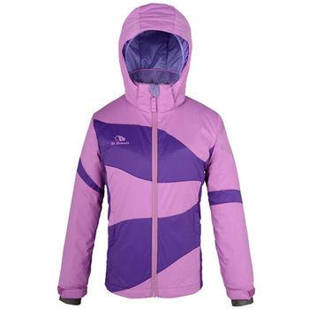 【聖伯納 St.Bonalt】中童-拼接粉彩滑雪外套-薰衣紫(87035)