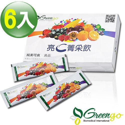 綠立生醫Greengo亮C菁采飲(10ml×45包)×6盒