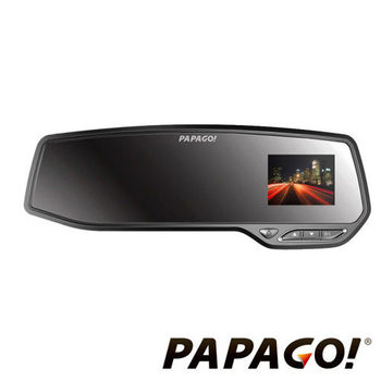 PAPAGO GoSafe 372 Full HD GPS後視鏡行車紀錄器