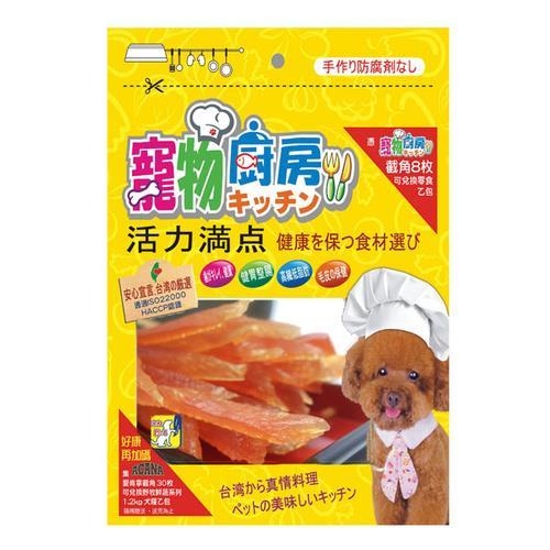 寵物廚房零食 PK-014柔軟雞肉細條 180G X 1包