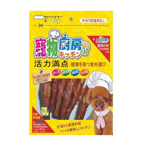 寵物廚房零食 PK-009潔牙雞肉捲 180G X 1包